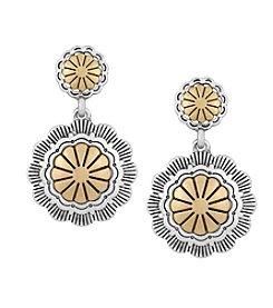 The Sak® Concho Double Drop Earrings