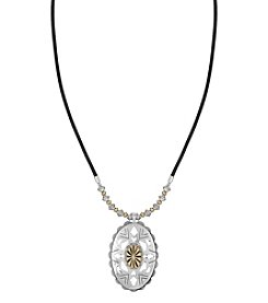 The Sak® Oval Concho Pendant Necklace
