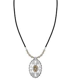 The Sak® Oval Concho Pendant Necklace