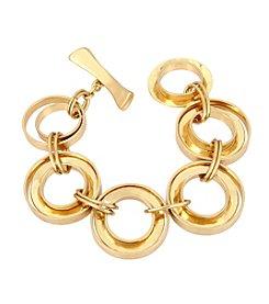 Robert Lee Morris Soho™ Multi Circle Link Toggle Bracelet