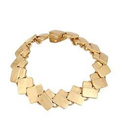 Robert Lee Morris Soho™ Geometric Rectangle Link Bracelet