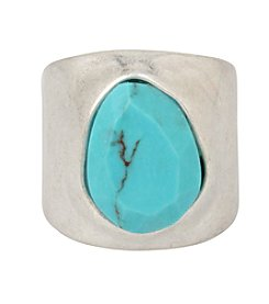 Robert Lee Morris Soho™ Semiprecious Turquoise Stone Sculptural Ring