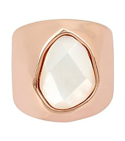 Robert Lee Morris Soho™ Mother Of Pearl Stone Sculptural Ring