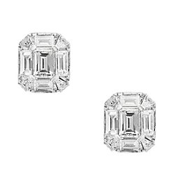 Effy® 14K White Gold Diamond Earrings
