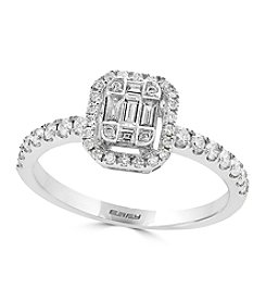 Effy® 14K White Gold 0.53 ct. t.w. Diamond Ring