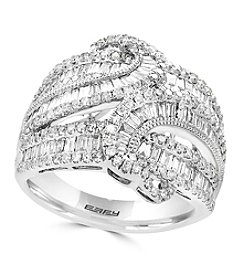 Effy® 14K White Gold Diamond Ring