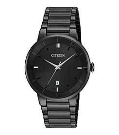 Citizen® Black Ion Plated Watch