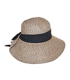 Nine West® Tweed Floppy With Scarf Hat