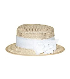 Nine West® Packable Boater Hat