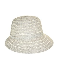 Nine West® Packable Metallic Cloche Hat