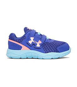 Under Armour® Girls' Engage 3 Adjustable Closure Running Shoes