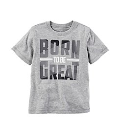 Carter's® Boys' 2T-8 Born Great Graphic Tee