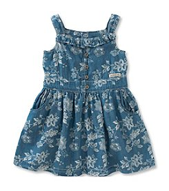 Calvin Klein Jeans Girls' 2T-6X Floral Dress