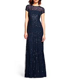 Adrianna Papell® Fully Beaded Gown