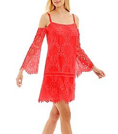 Nicole Miller New York™ Off-Shoulder Lace Dress