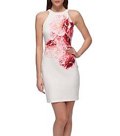 GUESS Floral Halter Dress