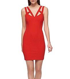GUESS Scuba Sheath Dress