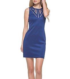 GUESS Mesh Cut-Out Dress