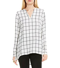 Vince Camuto® Windowpane Tunic