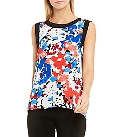 Vince Camuto® Nautical Blooms Blouse