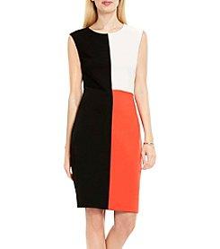 Vince Camuto® Color Block Midi Dress