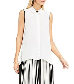 Vince Camuto® Backpleat Top