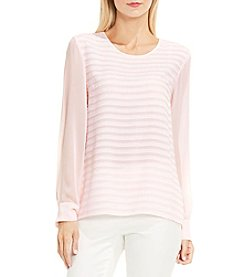 Vince Camuto® Ribbon Stripe Top