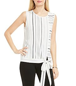 Vince Camuto® Tie Front Blouse