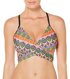 Coastal Zone® Diamond Wrap Bra Top