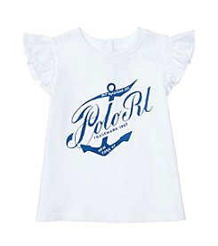 Ralph Lauren® Baby Girls' Anchor Top