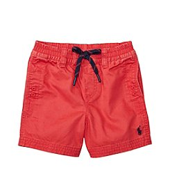 Lauren® Baby Boys Relaxed Twill Shorts