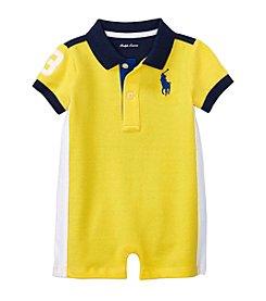 Ralph Lauren® Baby Boys Mesh Shortalls