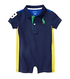 Lauren® Baby Boys' Mesh Shortalls