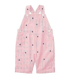 Ralph Lauren® Baby Girls' Seersucker Shortalls