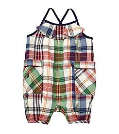 Ralph Lauren® Baby Boys Plaid Romper