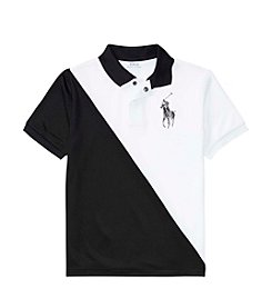 Polo Ralph Lauren® Boys' 8-20 Mesh Banner Top