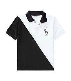 Polo Ralph Lauren® Boys' 2T-7 Mesh Banner Top