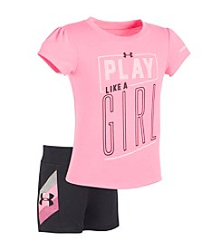 Under Armour® Baby Girls' Play Like A Girl Set