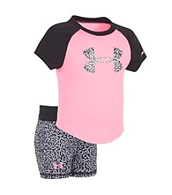Under Armour® Baby Girls' Glazed Dot Big Logo Set