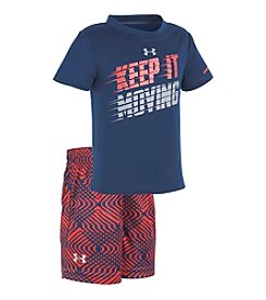Under Armour® Baby Boys Keep It Moving Set