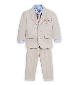 Nautica® Baby Boys' Khaki Linen Suit Set