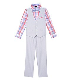 Nautica® Baby Boys' Chambray Vest Set