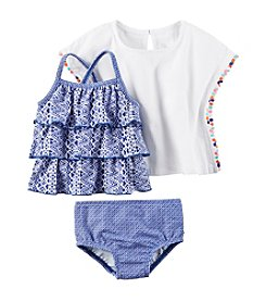 Carter's® Baby Girls' 3-Piece Printed Swim Set