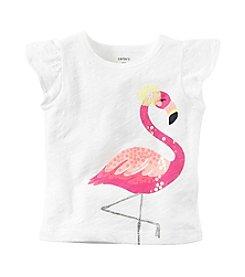 Carter's® Baby Girls' Flamingo Tee