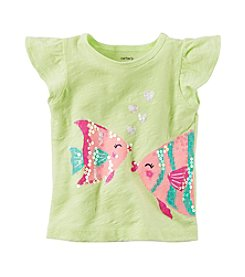 Carter's® Baby Girls' Fish Tee