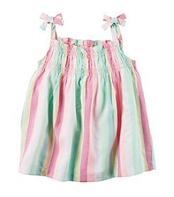 Carter's® Baby Girls' Multi-Striped Tank Top