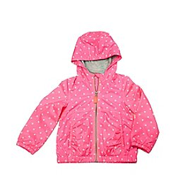 Carter's® Baby Girls' Dotted Print Windbreaker