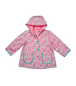 Carter's®  Baby Girls' Poodle Print Rainslicker