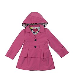 London Fog® Baby Girls' Trench Coat