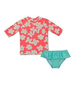 Carter's® Baby Girls' 2-Piece Hibiscus Rashguard Set